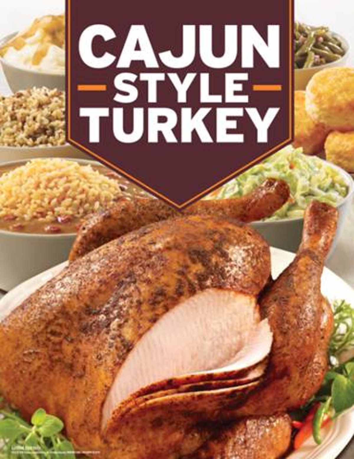 Here's How To Order Popeyes' Cajun Style Turkey so your thanksgiving holiday is easier.