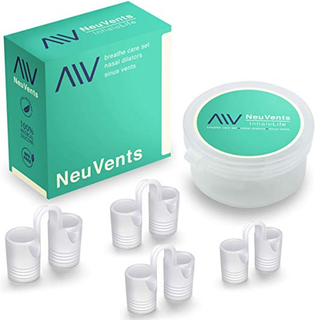 NeuVents Anti Snoring Nasal Dilator