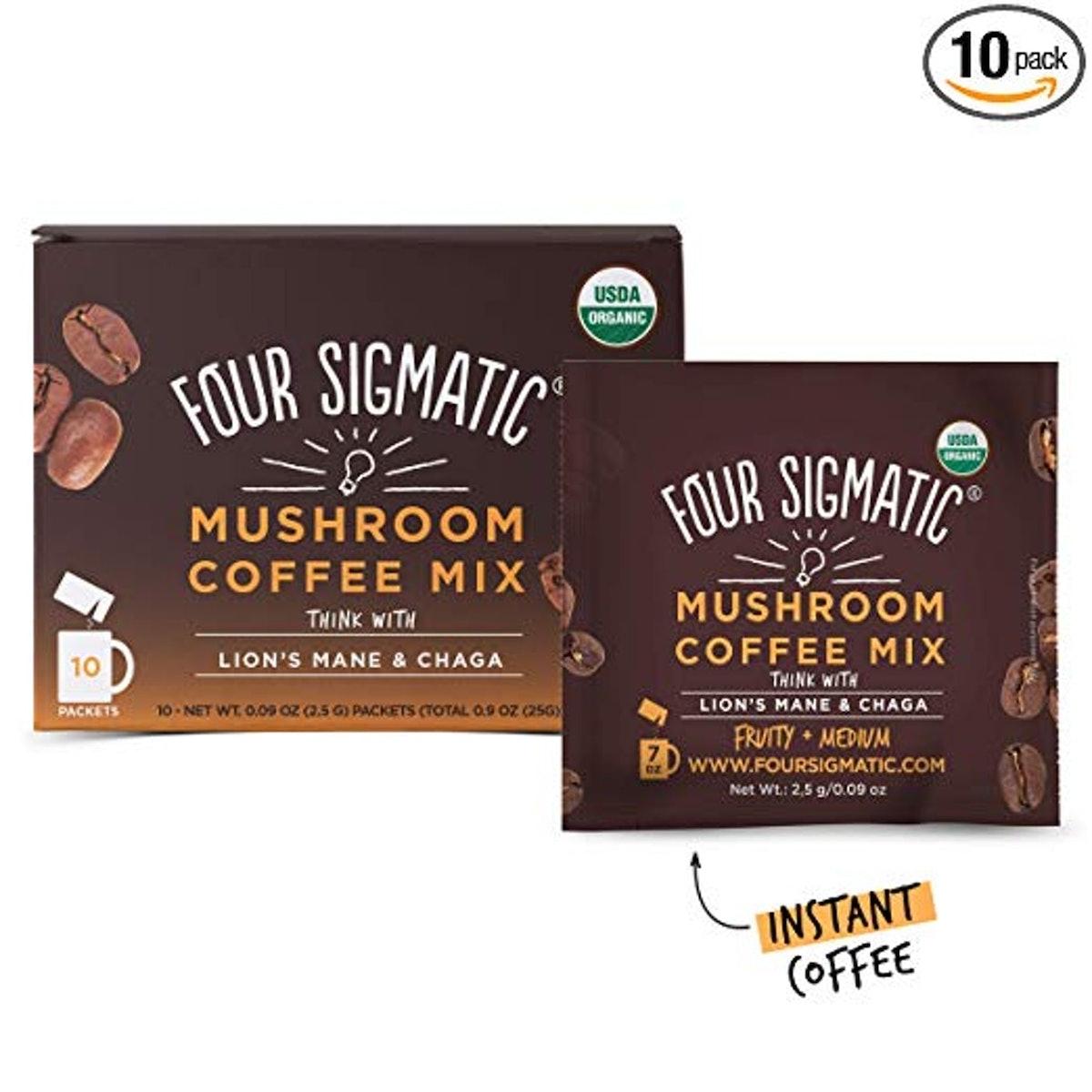 Four Sigma Foods Mushroom Coffee With Lion's Mane And Chaga