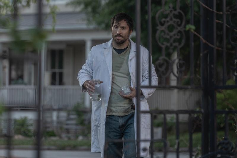 Juan Javier Cardenas as comic book character Dante on The Walking Dead