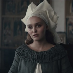 Lily-Rose Depp as Catherine in The King