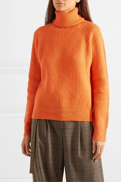 Jerome Ribbed Wool And Cashmere-Blend Turtleneck Sweater