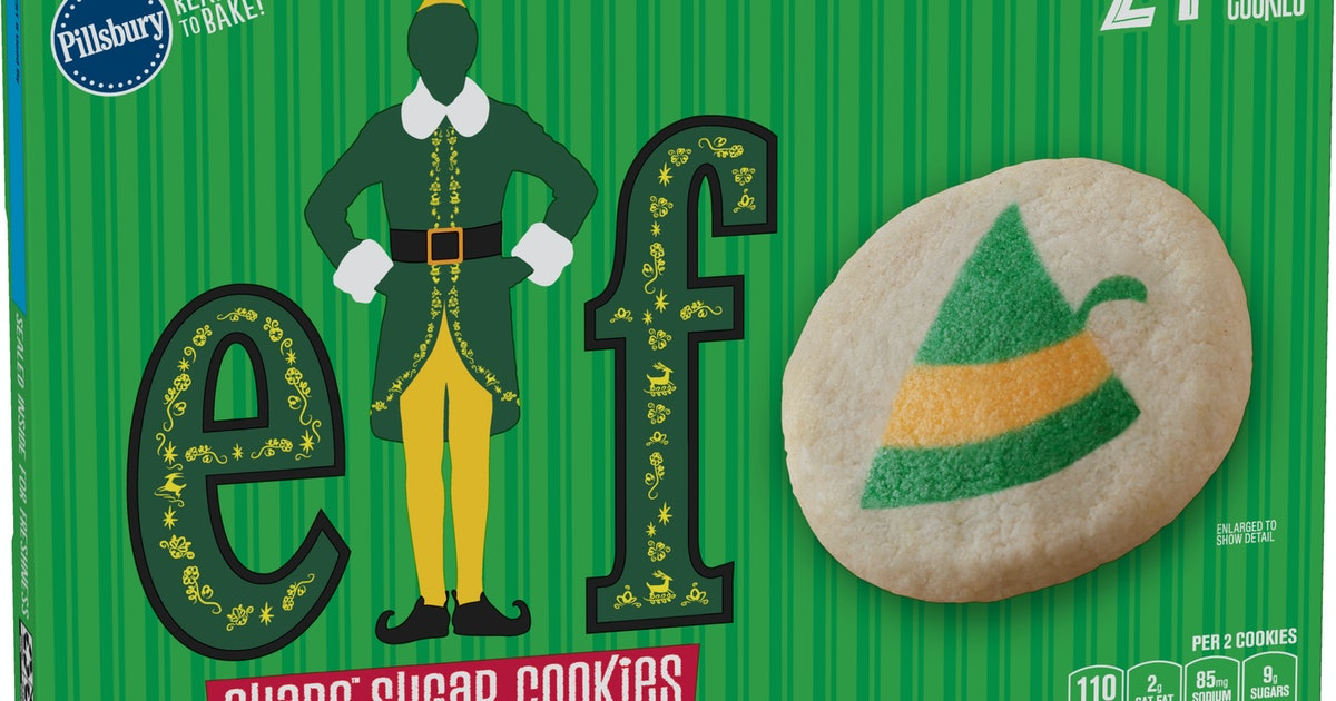 Buddy The Elf-Themed Sugar Cookie Dough Just Hit Shelves