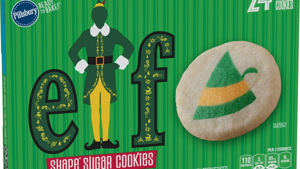 The Pillsbury Elf Shape Sugar Cookies are back for the holiday season.