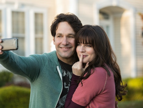Paul Rudd and Aisling Bea star as Miles and Kate in Netflix's 'Living With Yourself.'
