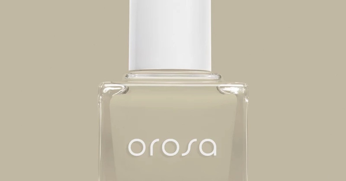 OROSA's Fall 2019 Nail Polish Shades Are The Unexpected Colors You'll Wear On Repeat