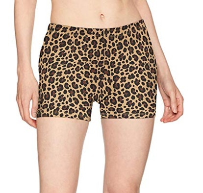 Soffe Women's Juniors Printed Compression Shorts