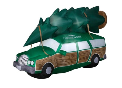 Warner 8 ft. Inflatable National Lampoons Christmas Vacation Station Wagon