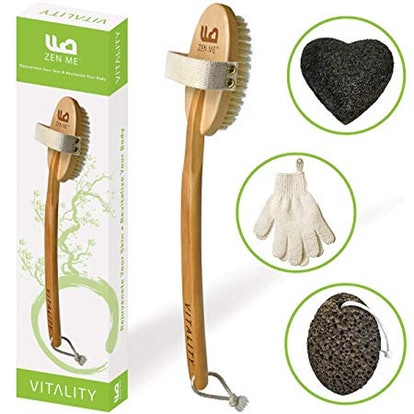 Zen Me Premium Body Brush
