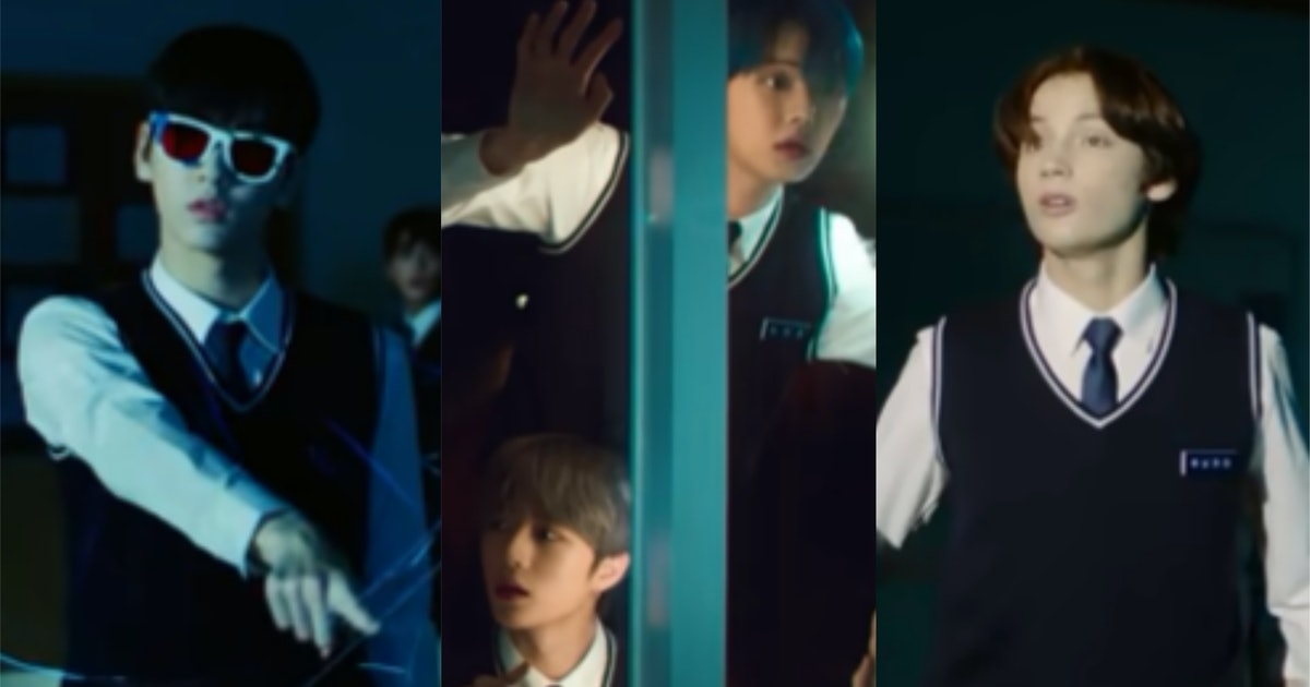 """TXT's """"9 & Three Quarters"""" Video Teasers Give Such 'Harry Potter' Vibes"""