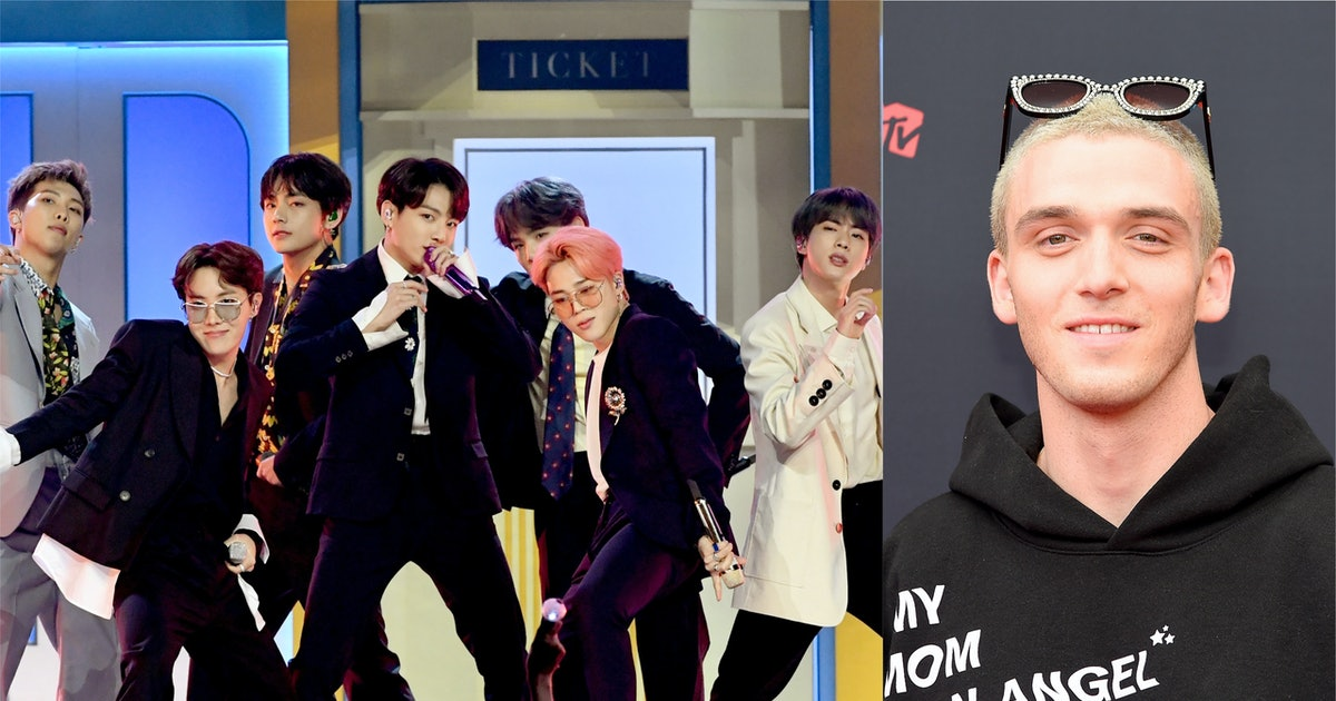 """BTS & Lauv's Tweets About A """"Make It Right"""" Remix Has ARMYs Freaking Out"""