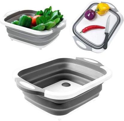 Odizli 4-in-1 Collapsible Cutting Board and Basin