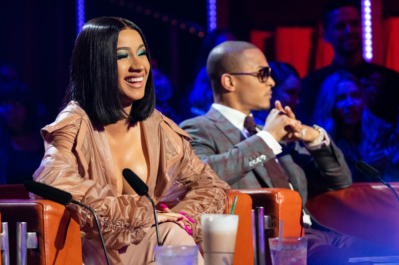 Cardi B and T.I. judge contestants on Netflix's 'Rhythm + Flow.'
