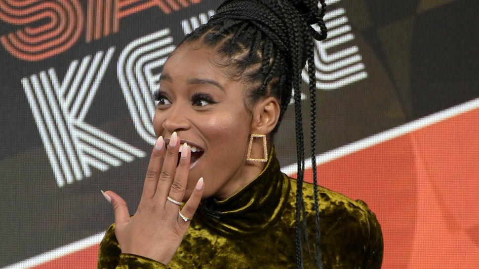 Keke Palmer on Mike Johnson asking her out