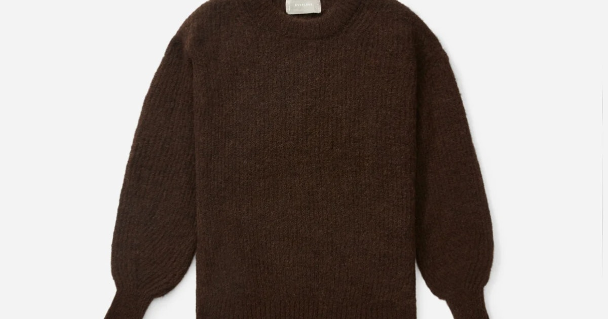 The 9 Best Everlane Sweaters That Will Make Getting Dressed In The Morning A Breeze