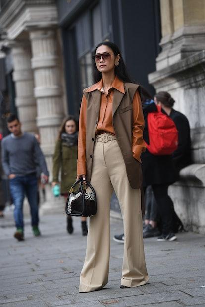 vest street style paris