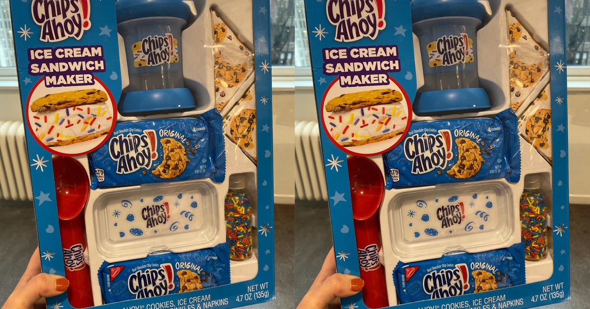 A Chips Ahoy! Ice Cream Sandwich Maker Is Hitting Walmart