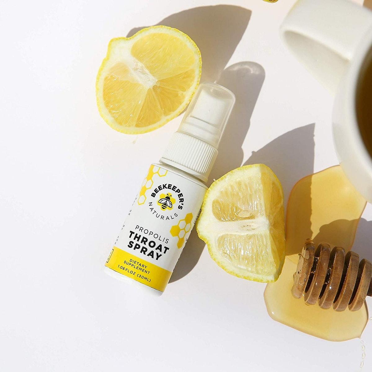 Beekeeper's Naturals Bee Propolis Natural Throat Spray