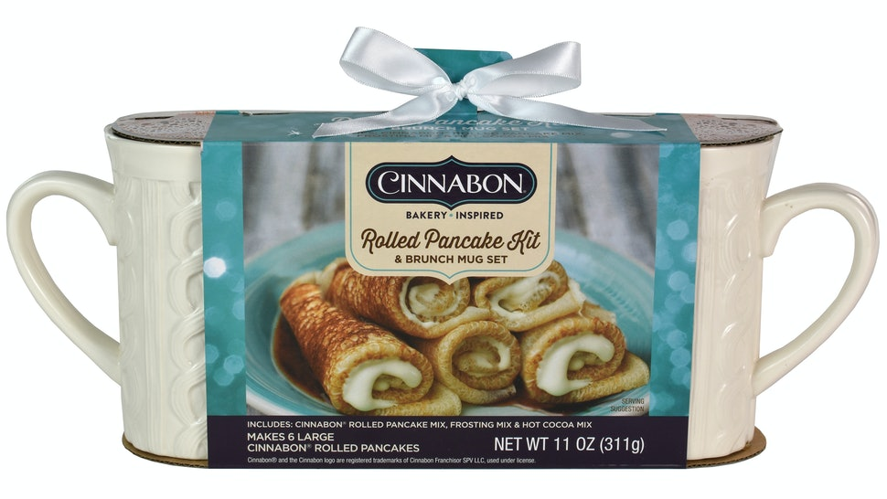 The new Cinnabon Rolled Pancake Set will be available at Walmart Nov. 1.