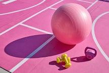 Sport Court At Barbie Malibu Dream House