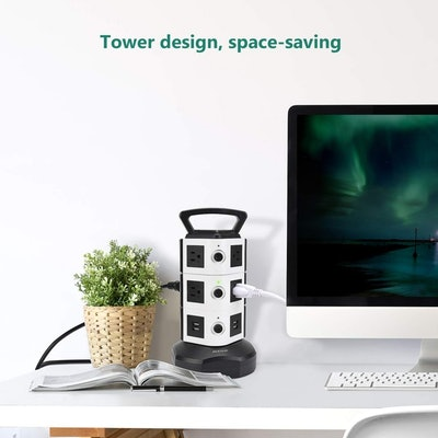 JACKYLED Surge Protector Electric Charging Station