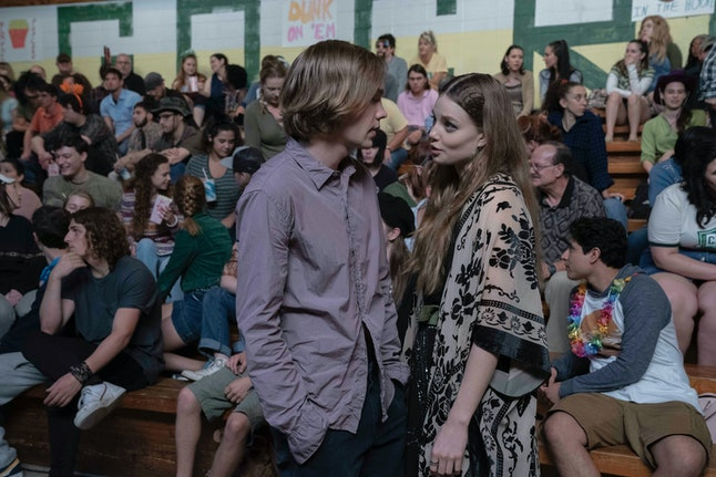 Miles and Alaska from Hulu's Looking For Alaska.