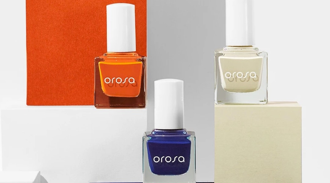 OROSA's fall 2019 nail polish shades are unexpected colors inspired by the autumn season.