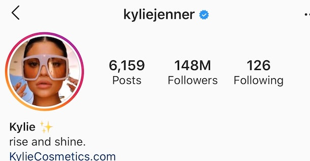 """Kylie Jenner changes Instagram bio to """"Rise and Shine"""" after viral singing moment"""