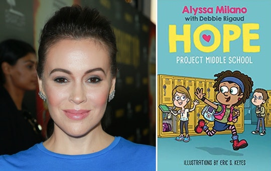 Alyssa Milano's new children's book follows a determined middle schooler named Hope on a mission