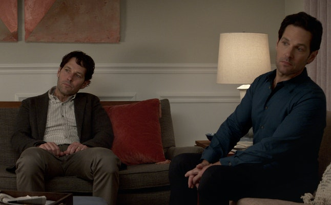 Paul Rudd as Old Miles and New Miles in 'Living with Yourself'