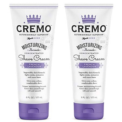 Cremo French Lavender Moisturizing Shave Cream (2-Pack)
