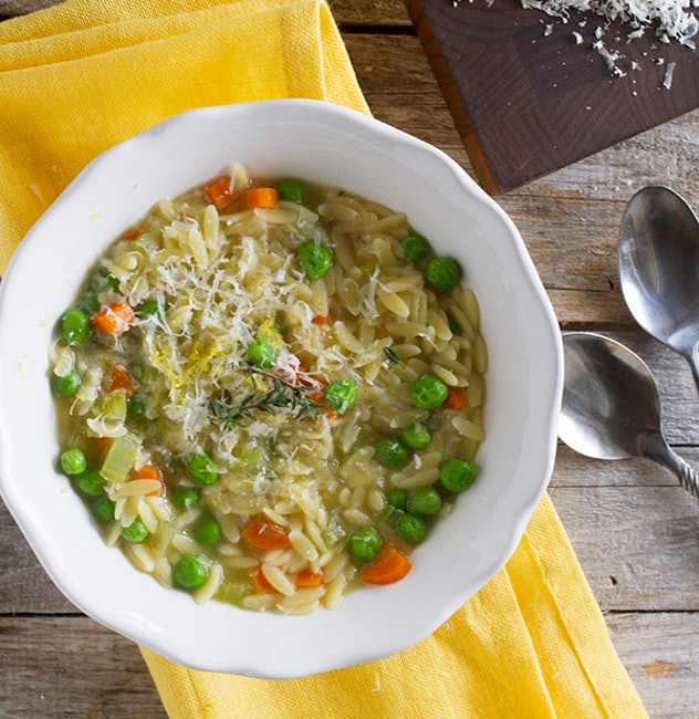 The quick Easy Vegetable Soup Pasta recipe from Tastse & Tell is a great weeknight meal