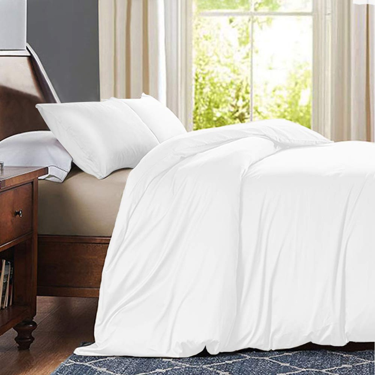 Leccod Satin Pillowcases (2-Pack)