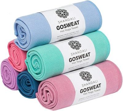 SHANDALI GoSweat Hot Yoga Towel