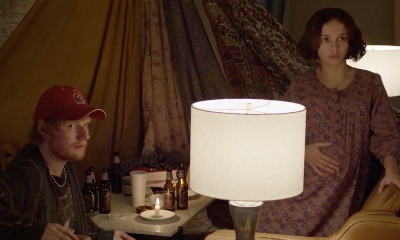 Ed Sheeran and Olivia Cooke as Mick and Carla in 'Modern Love'