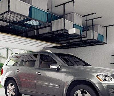 FLEXIMOUNTS Overhead Garage Storage Rack (4x8 feet)