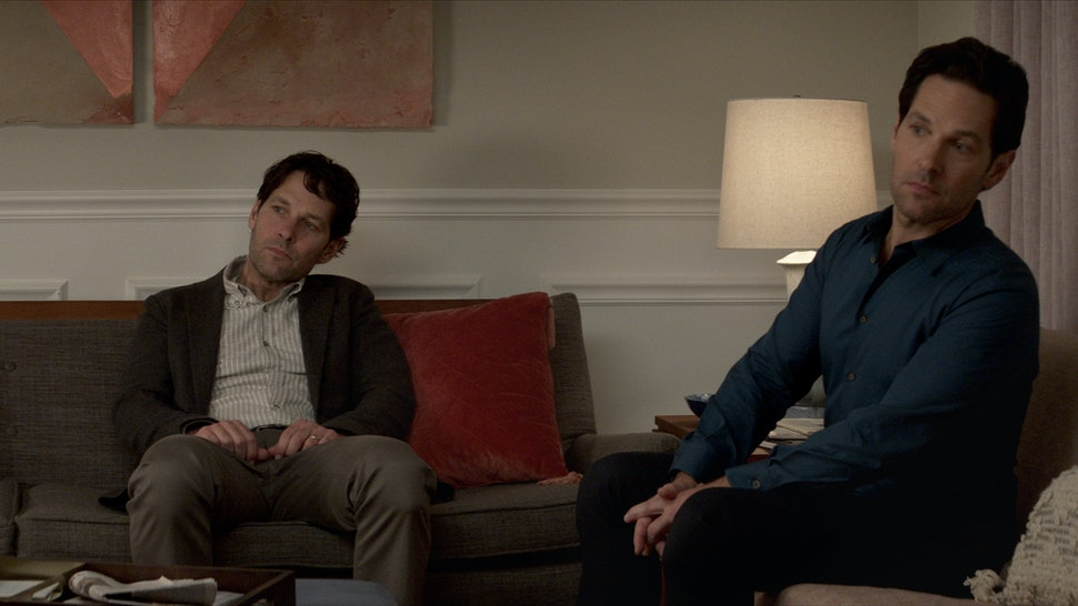 Paul Rudd sees double in Netflix's Living With Yourself