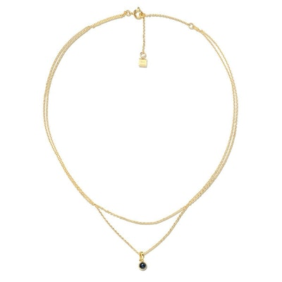 Izzy Double Chain Necklace