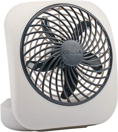 O2COOL Treva Portable Desktop Battery Fan