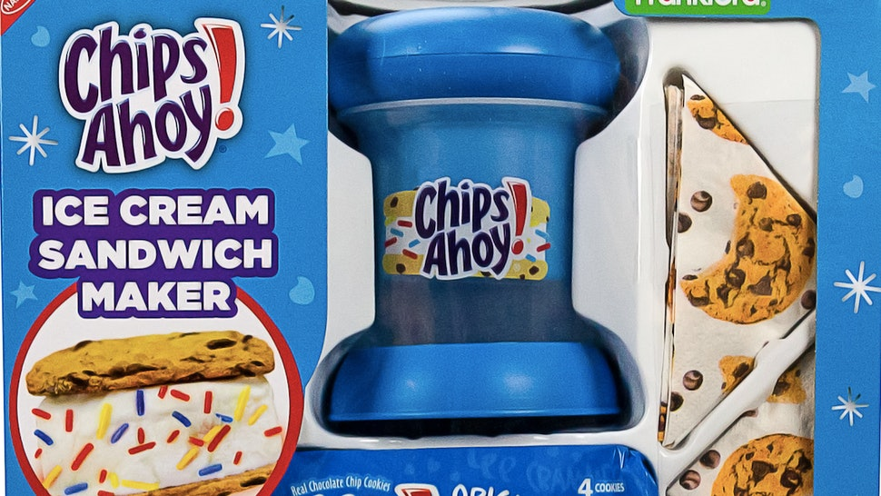 A Chips Ahoy! Ice Cream Sandwich Maker, available at Walmart.