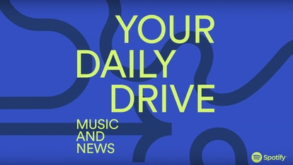 Spotify's Daily Drive playlist can help you find new music