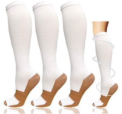 Sooverki Copper Compression Socks