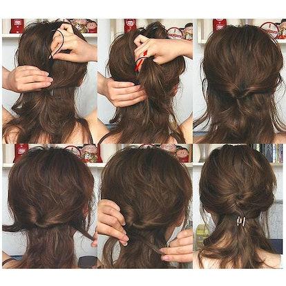 Adecco Topsy Tail Loop Hair Kit (4 Pairs)