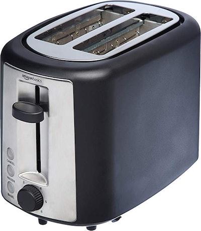 AmazonBasics 2 Slice Extra Wide Slot Toaster