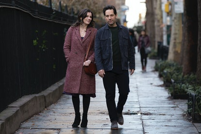 Aisling Bea and Paul Rudd as Kate and Miles in 'Living with Yourself'