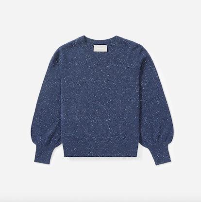 The Cashmere Lantern Sweater