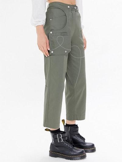 High-Waisted Cargo Pant
