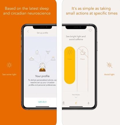 The Timeshifter app gives you personalized plans to help you get over jet lag.