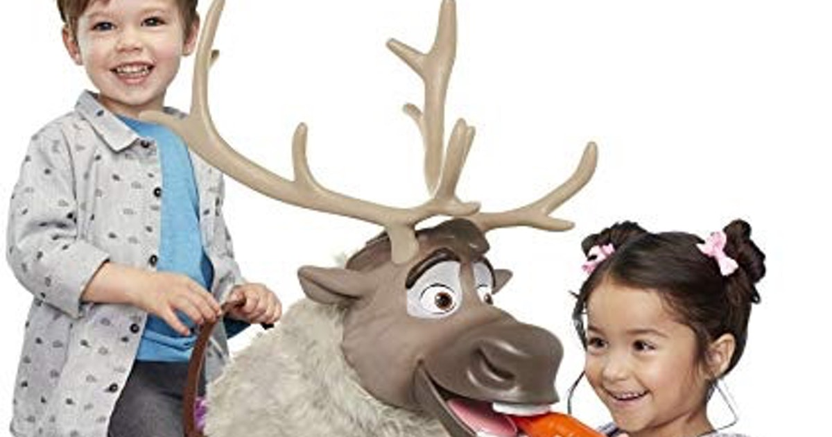 """This 'Frozen 2' Playdate Sven Is Too Cute To """"Let It Go"""""""