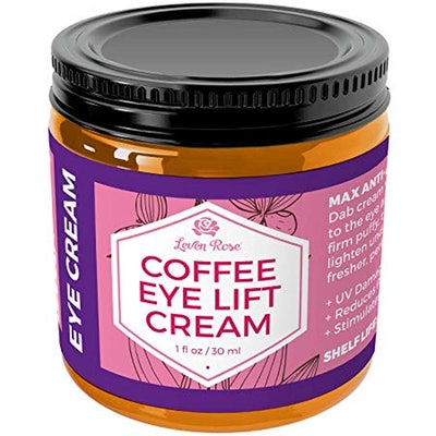 Coffee Eye Lift Cream by Leven Rose
